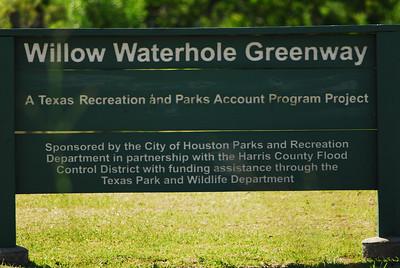 Willow Waterhole Greenway, Houston, TX