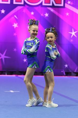 CheerStrike Royals  Aurora & Ryleigh - Tiny Duo 1