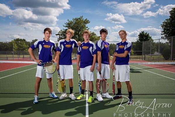 Tennis M Team Photos 2013
