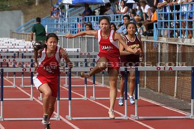 040910 Womens 100 Hurdles