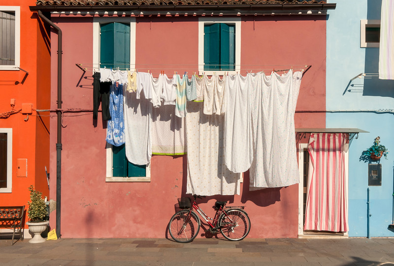 Street Scene, Burano, Italy
