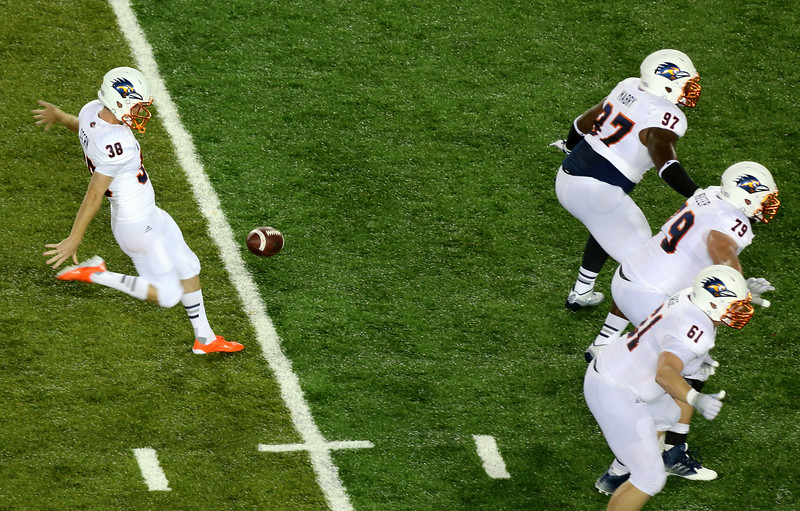 Something we did not see enough of:  UTSA has to punt.