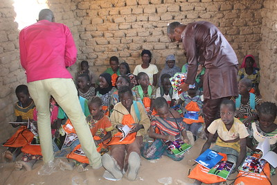 PAIS Distribution of School Kits in Gao Region, Mali