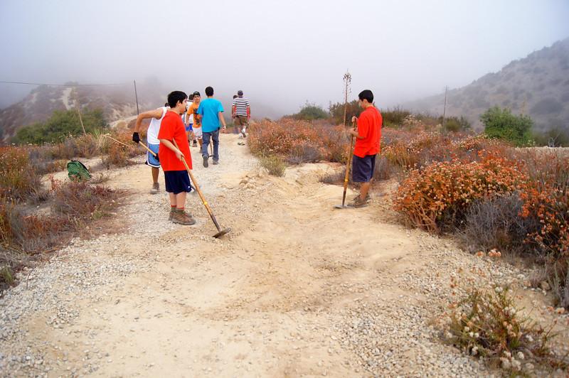 20110911028-Eagle Scout Project, Steven Ayoob, Verdugo Peak.JPG