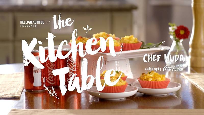 "Coca Cola ""The Kitchen Table with Chef Huda"""