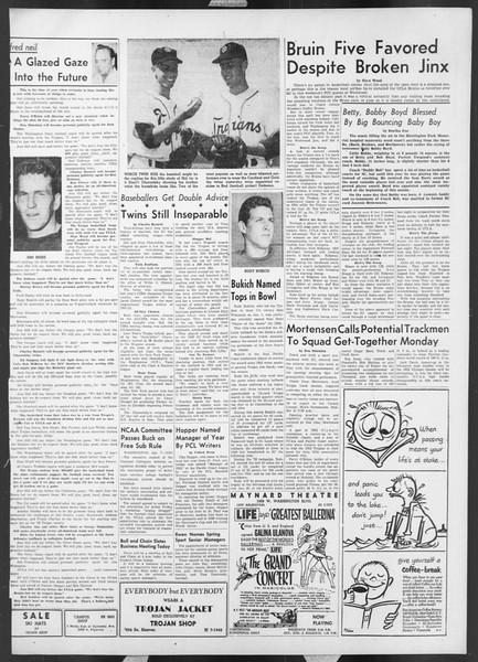 Daily Trojan, Vol. 44, No. 68, January 08, 1953