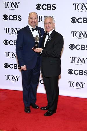 TONY AWARDS 2016 MEDIA ROOM