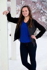 Kendra Schlossnagle - Graduation Portrait