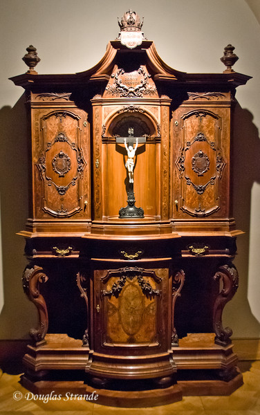Cupboard holding the keys to the coffins of the Habsburgs -- Imperial Treasury, Vienna
