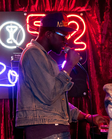 01/26/2012 - Theophilus London at the Do512 Lounge