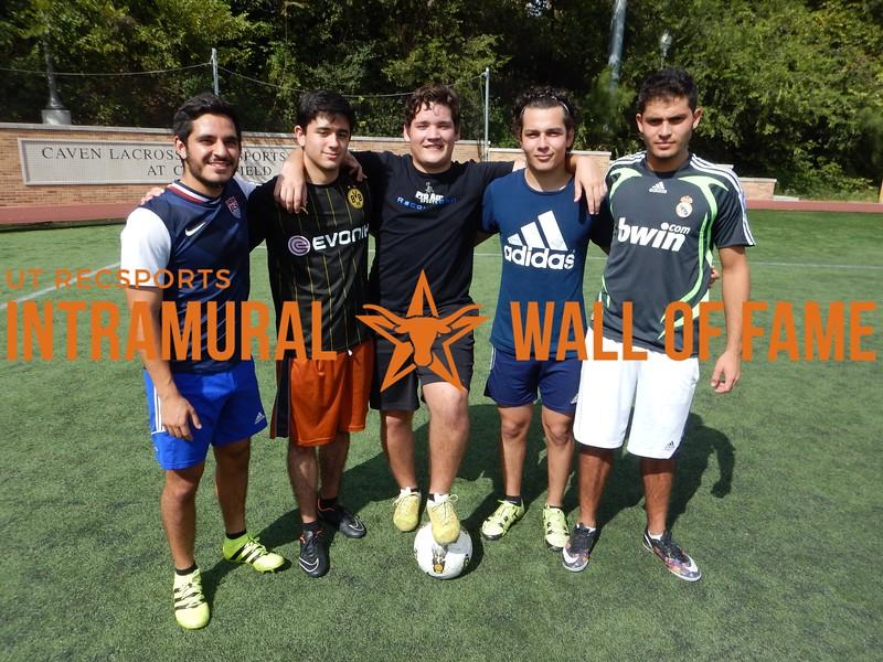 Fall 2016 Fall 3v3 Soccer Men's A Runner Up_Latin Armada FC