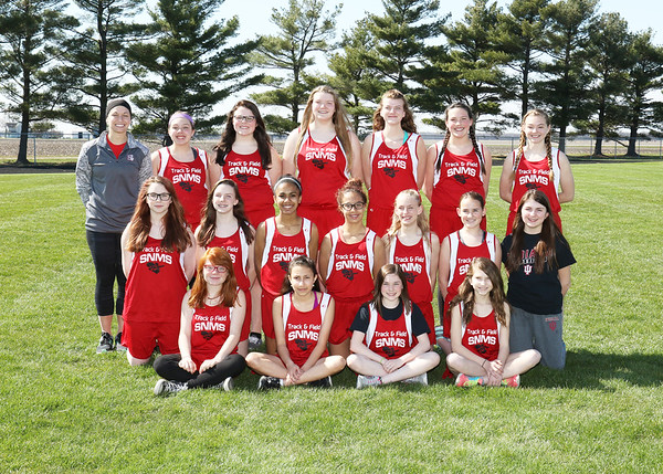 SNMS Track Team 2016