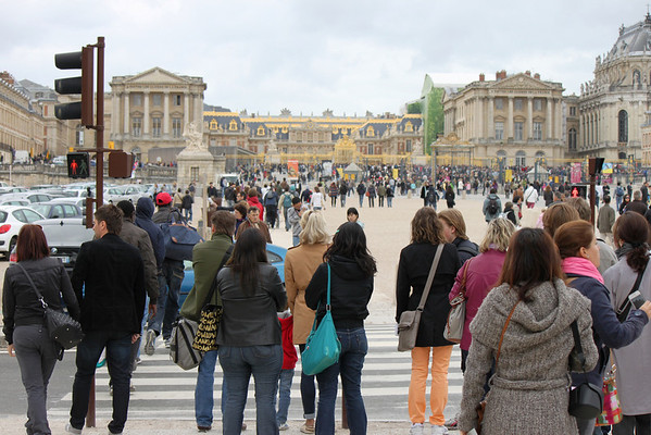 May 18, 2012 - Paris (Versailles, Louvre)