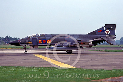 British RAF  McDonnell Douglas F-4 Phantom II Military Airplane Pictures