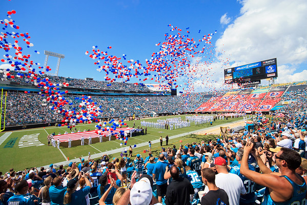 09/11/2011 - Titans at Jaguars on 10th Anniversary of 9/11