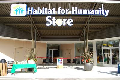 Habitat Store Opening