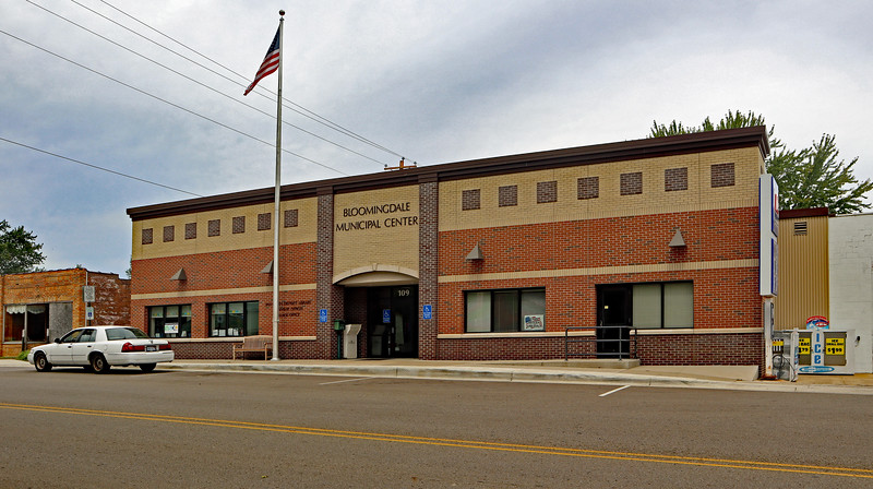 Bloomingdale Township meetings are held in the Bloomingdale Municipal Center