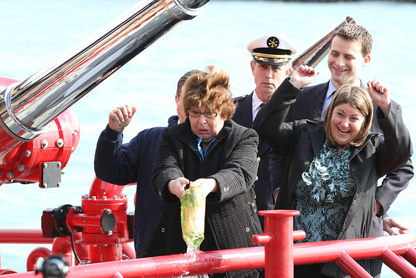 """Fireboat Engine 2 """"The Christopher Wheatley"""" Dedication May 5, 2011"""