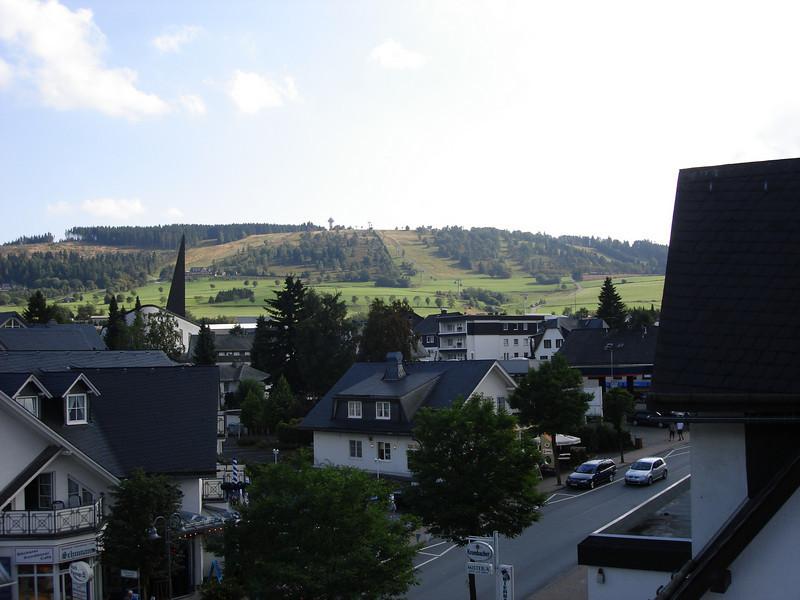 zicht op de Ettelsberg en Hochheidetoren