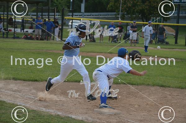 Aurora Pony League baseball Jordan Legal vs Kiwanis 7-19-14