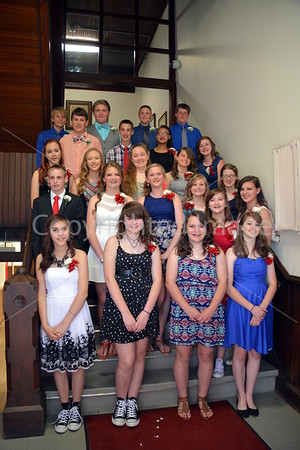 La Moille Allen Jr. High 8th Grade Graduation, May 28, 2015