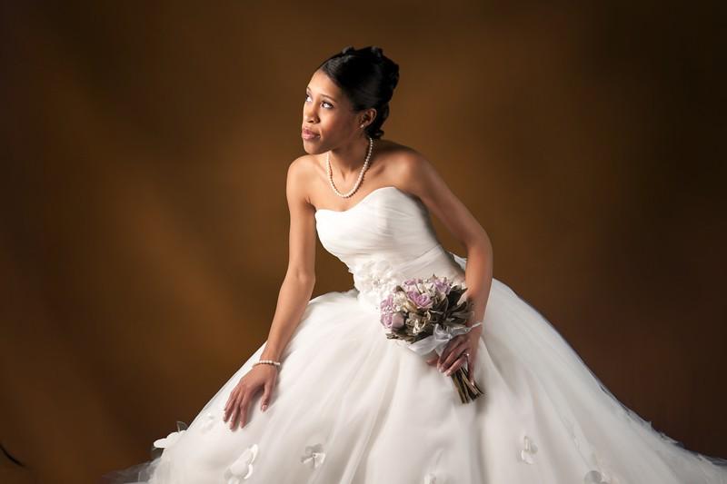Kimberly Glamorous Bridal Portrait Photo Session :: NJ NY