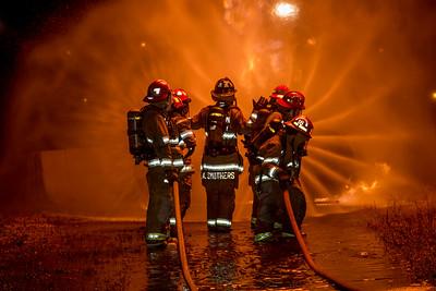 2015 - Fire School - LPG & Car Fire Practicals December 2015