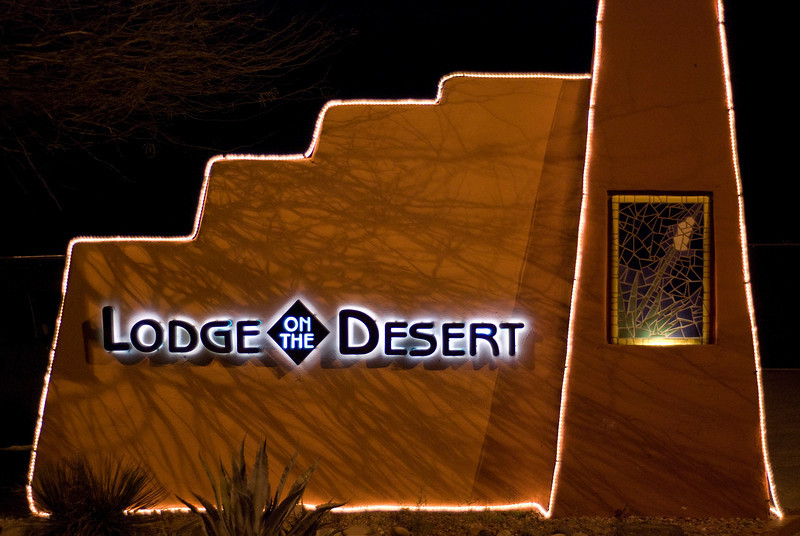 The Lodge on the Desert. Where we stayed.