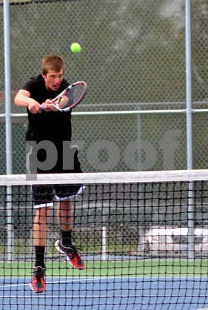 FD vs marshalltown boys tennis