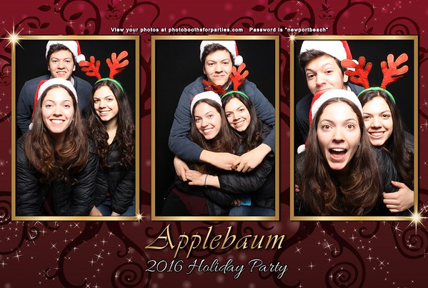 Applebaum 2016 Holiday Party