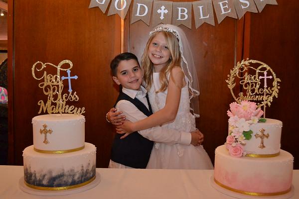 Julianna & Matthew's Communion 5/8/21 @ Peppercorns
