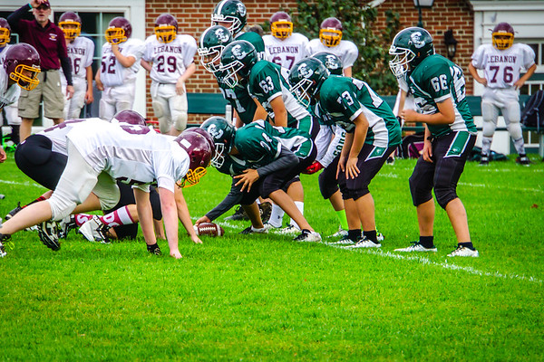 JV Football vs. Lebanon High School
