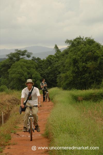 Biking in Rural Xishuangbanna, China