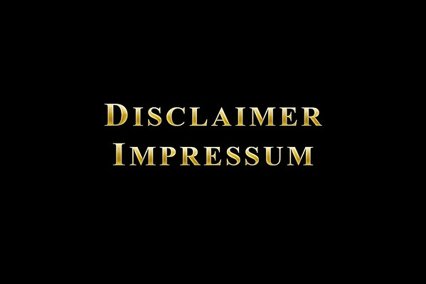 Disclaimer / Impressum