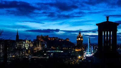 Edinburgh Christmas Lights 2018