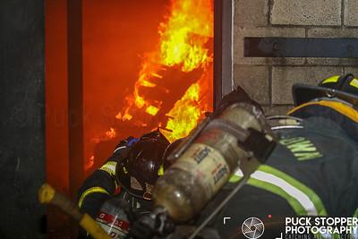 Live Burn - Belltown VFD, Darien, CT - 9/22/18