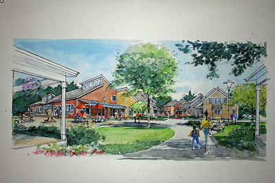 Artist's Rendering - Camelot Cohousing