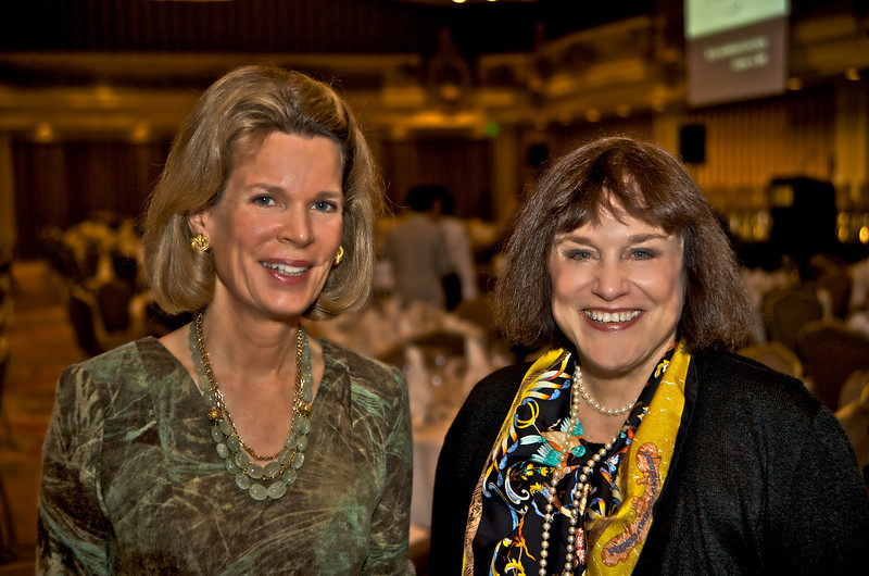 Vickie Johnston and BeBe Trinkner
