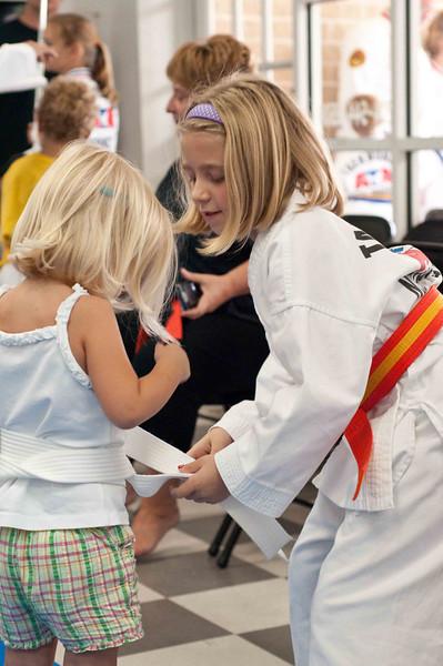 Karate - Belt Ceremony 8/09
