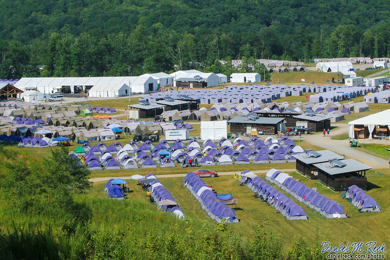 Over 10,000 International Service Team Members Make the World Scout Jamboree Possible