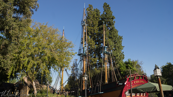 Disneyland Resort, Disneyland, Frontierland, Sailing Ship Columbia, Sailing, Ship, Columbia