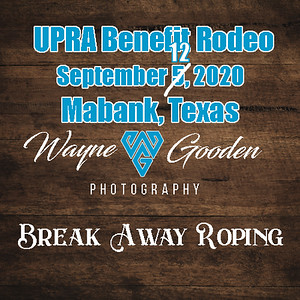 Breakaway Roping UPRA