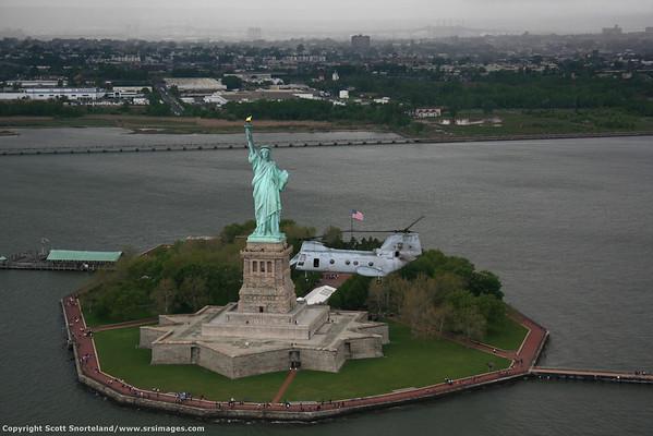 NYC Fleetweek Thursday Flight