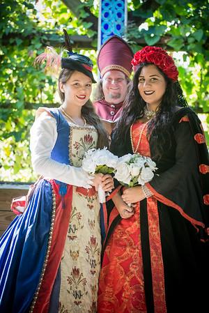 Staged Weddings