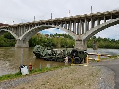 Military at Palatine Park