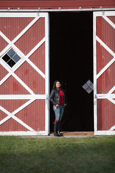 Nirmala Narine's Hudson Valley farm in New Paltz, NY. Nirmala also operates a retail store on her property, Nirmala's Kitchen. The barn on the 15 acre property is used for events.