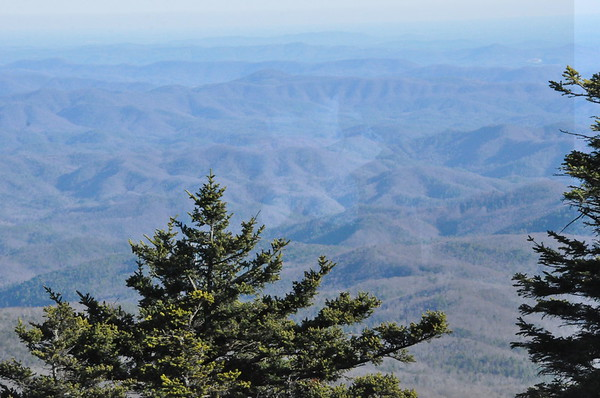 Grandfather Mountain in Color 12-1-2011