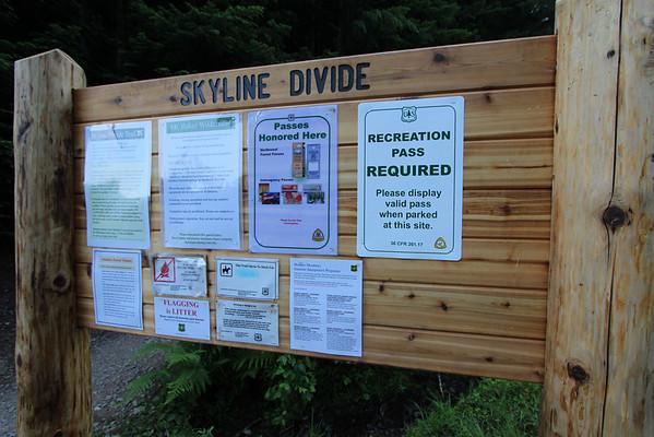 Skyline Divide-August 2012