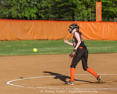JV Softball vs Yorktown 4/17/17