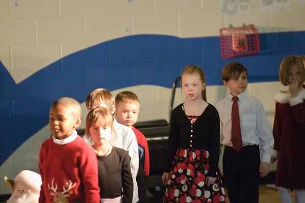 Delaware Trail 1rst and 3rd Grade Christmas Show